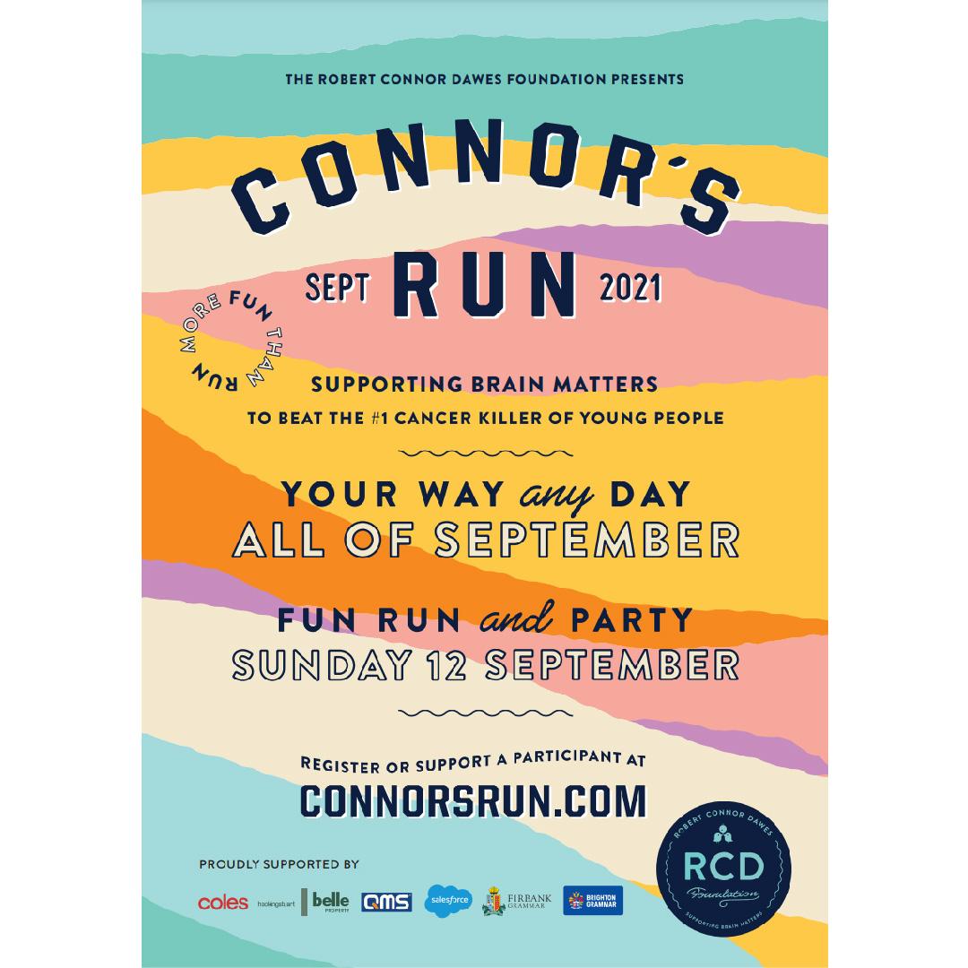 Connor's Run Poster