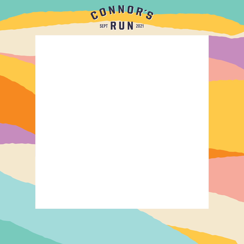 Connor's Run Social Media Frame